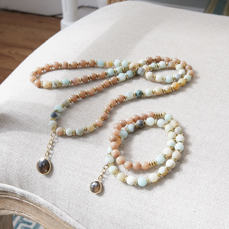 Armband en halsketting Kol�n