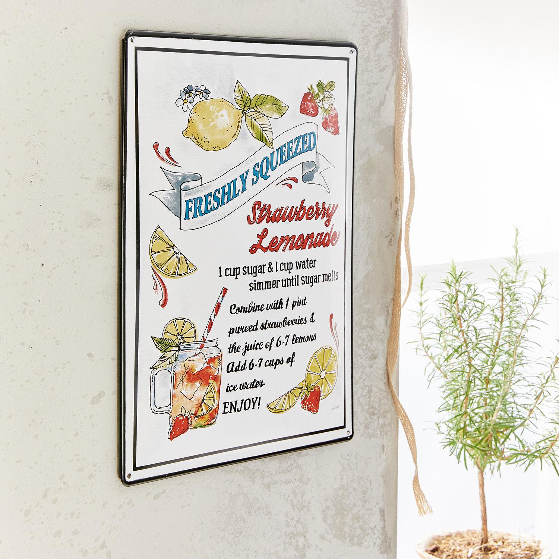 Decoratieboard Lemonade