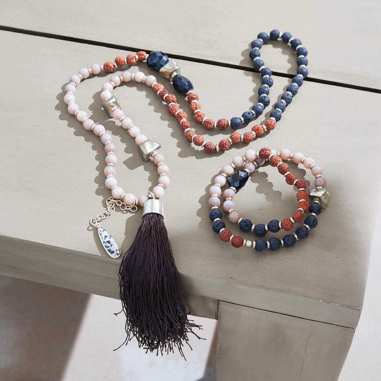 Armband en halsketting Miguella