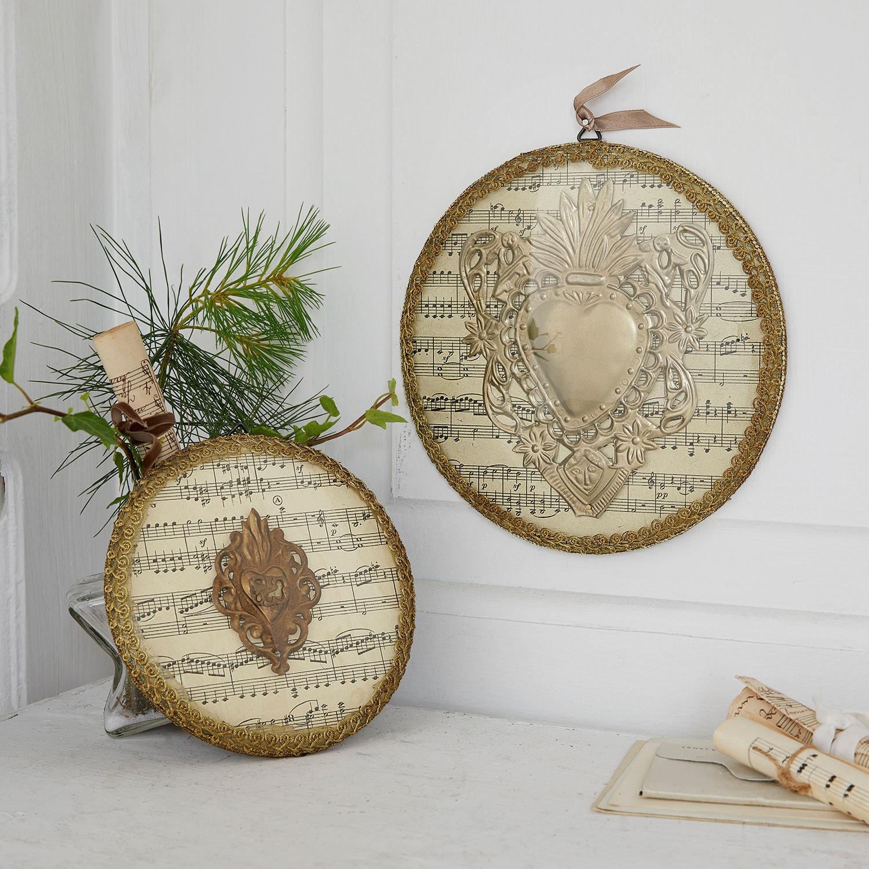 Decoratievoorwerp set van 2 Brenia