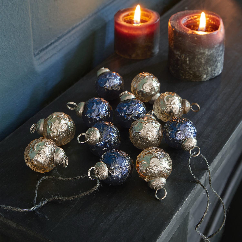 Kerstversiering set van 12 Werendela