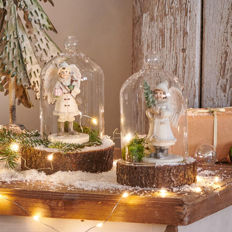 Kerstversiering, set van 2 Children