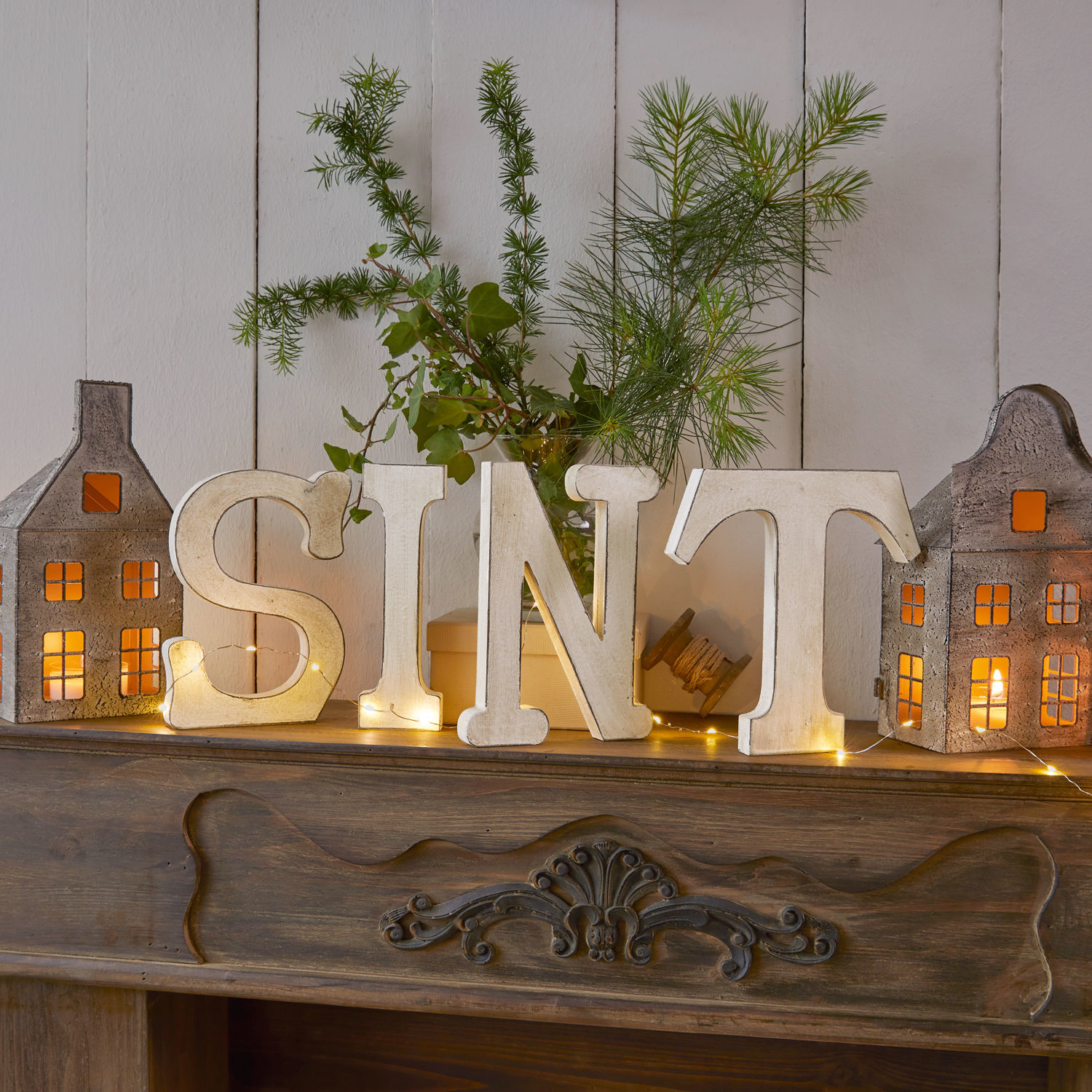 Decoratieletters Sint