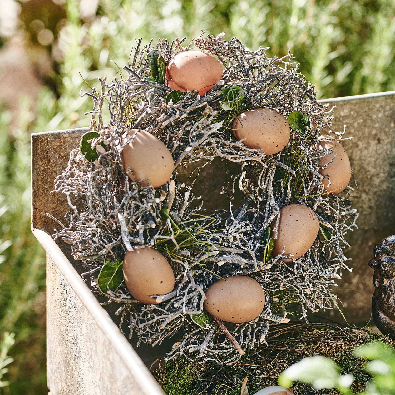 Krans met eieren Contreur